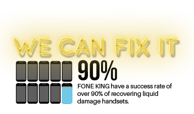 We can fix liquid damaged phones